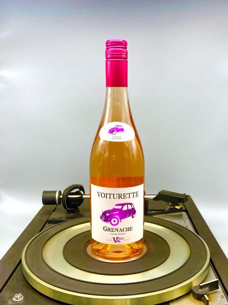 Grenache Rosé 2019 VDT | Vignobles & Compagnie, Voiturette, Frankreich