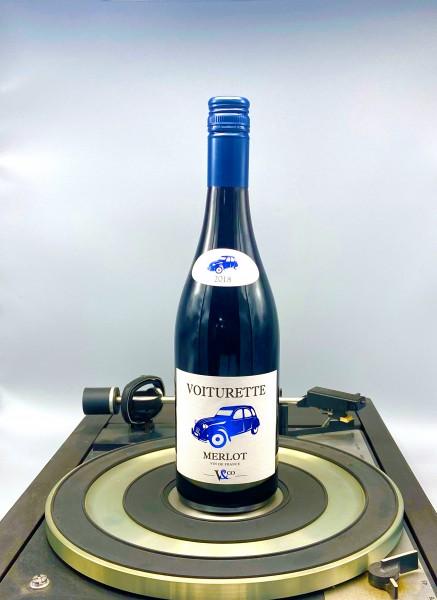 Merlot 2018 VDT | Vignobles & Compagnie, Voiturette, Frankreich
