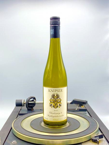 Weissburgunder und Chardonnay 2019 QbA | Knipser, Pfalz, Deutschland
