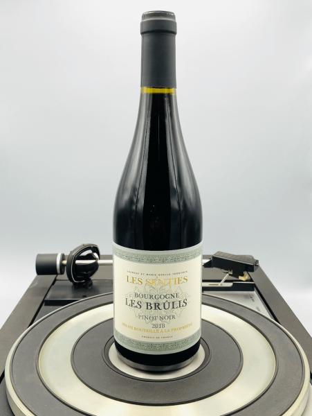 Pinot Noir Les Brulis 2018 AOP   Famille Ternynck, Les Senties, Burgund, Frankreich