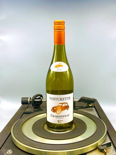Chardonnay 2019 VDT | Vignobles & Compagnie, Voiturette, Frankreich