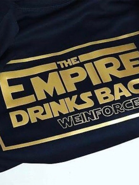 """The Empire drinks back"" T-Shirt 