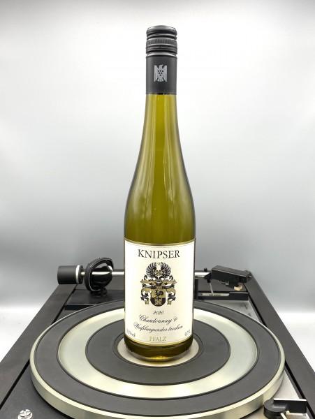 Weissburgunder und Chardonnay 2020 QbA | Knipser, Pfalz, Deutschland
