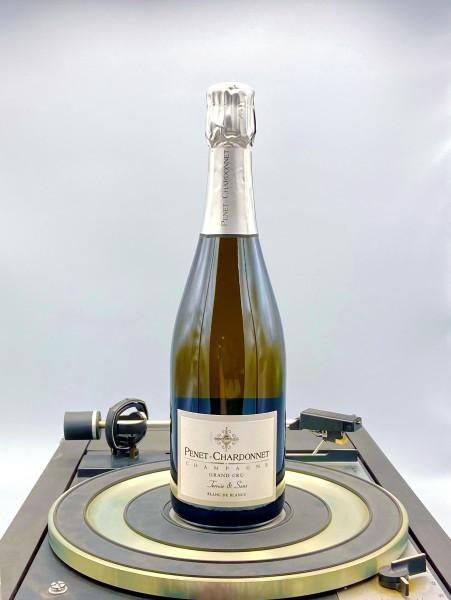 Terroir Escence Blanc de Blancs Grand Cru Champagner | Penet-Chardonnet, Champagne, Frankreich